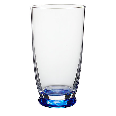 Buy Denby Imperial Blue Tumbler, Clear, Large, Pack Of 2 Online at johnlewis.com