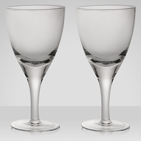 Buy Denby Azure White Wine Glass, Clear, Pair Of 2 Online at johnlewis.com