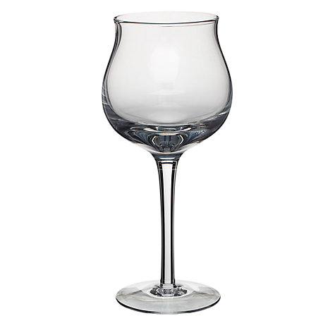 Buy Denby Linen White Wine Glass, Clear, Pack Of 2 Online at johnlewis.com