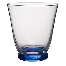 Buy Denby Imperial Blue Tumbler, Clear, Small, Pack Of 2 Online at johnlewis.com