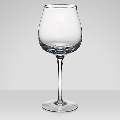 Buy Denby Linen Red Wine Glass, Clear, Pair Of 2 Online at johnlewis.com