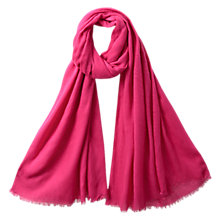 Buy East Brushed Soft Wrap, Berry Online at johnlewis.com