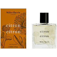 Buy Miller Harris Citron Citron Eau de Parfum Online at johnlewis.com