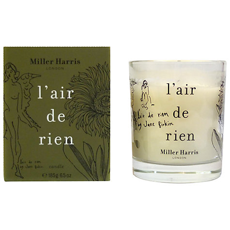 Buy Miller Harris L'Air De Rien Candle, 185g Online at johnlewis.com