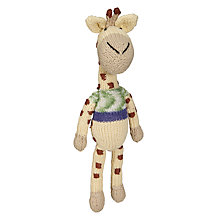 Buy Dassie GoGo Olive Giraffe Doll, Multi Online at johnlewis.com