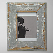 "Buy Dassie Rustic Picture Frame, Multi, 3.5 x 5"" Online at johnlewis.com"