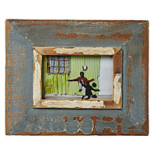 "Buy Dassie Rustic Picture Frame, Multi, 4 x 6"" Online at johnlewis.com"