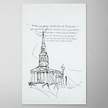 Buy Toby Boo St. Martins Church Print Tea Towel, Multi Online at johnlewis.com