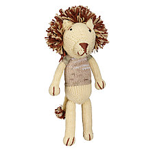 Buy Dassie GoGo Olive Lion Doll, Multi Online at johnlewis.com
