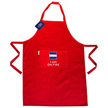 Buy Nick Munro RNLI I Am On Fire Apron Online at johnlewis.com