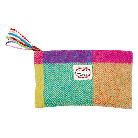 Buy Avoca Circus is in Town Cosmetics Bag, Multi Online at johnlewis.com