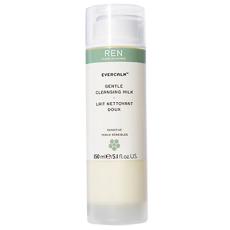 Buy REN Evercalm Gentle Cleansing Milk, 150ml Online at johnlewis.com