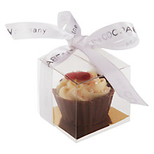 Buy Cocoabean Company Milk Chocolate Cupcake, 20g Online at johnlewis.com