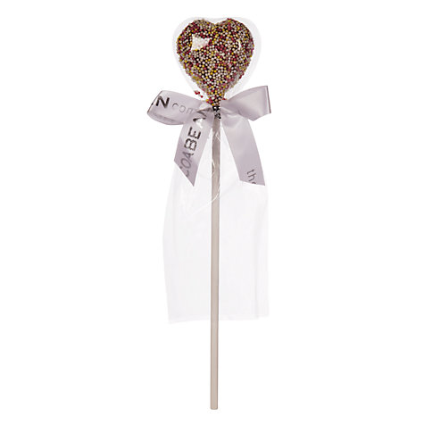Buy Cocoabean Company Milk Chocolate Sprinkle Heart Lolly, 40g Online at johnlewis.com