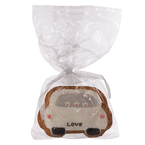 Buy Image on Food Wedding Car Gingerbread, Pack of 50 Online at johnlewis.com