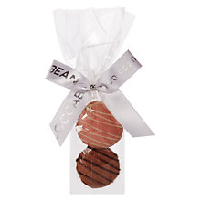 Buy Cocoa Bean Co Pink and Chocolate Macaroon Duo, Pack of 50 Online at johnlewis.com