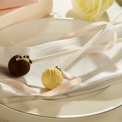 Buy The Cocoabean Company Bride and Groom Chocolate Truffle Pop Set, 20g Online at johnlewis.com