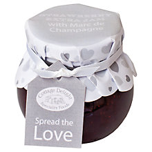 Buy Cottage Delight Spread The Love Strawberry Jam, 113g Online at johnlewis.com