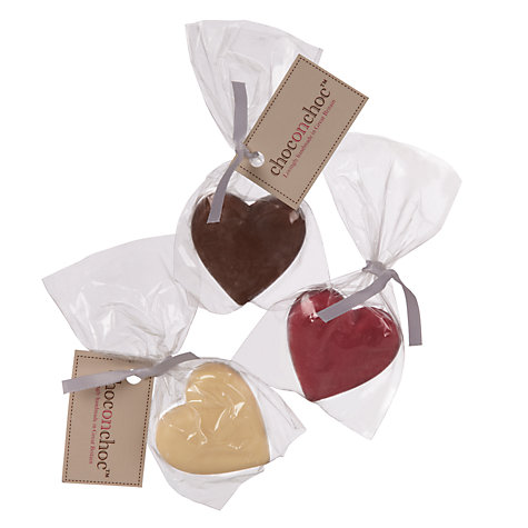 Buy Choc on Choc Chocolate Hearts, 22g, Assorted Online at johnlewis.com