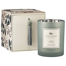 Buy Cochine Juniper & Ginger Candle Online at johnlewis.com