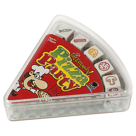 Buy Paul Lamond Games Pizza Party Dice Game Online at johnlewis.com