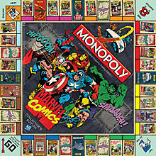 Buy Marvel Comics Edition Monopoly Online at johnlewis.com