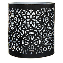 Buy John Lewis Cut-out Tealight, Silver Online at johnlewis.com