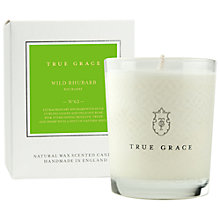 Buy True Grace Wild Rhubarb Scented Candle Online at johnlewis.com