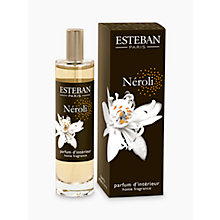 Buy Esteban Neroli Room Spray, 100ml Online at johnlewis.com