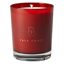 Buy True Grace Curious No 56 Candle, Red Online at johnlewis.com