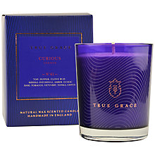 Buy True Grace Curious No 61 Candle, Green Online at johnlewis.com