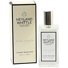 Buy Heyland & Whittle Green Tea And Grapefruit Room Mist Online at johnlewis.com