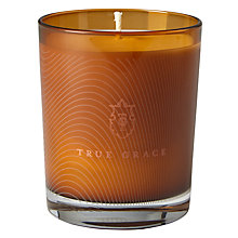 Buy True Grace Curious No 60 Candle, Orange Online at johnlewis.com