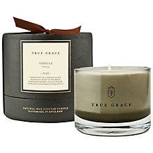 Buy True Grace Manor Vanilla Scented Bowl Candle Online at johnlewis.com