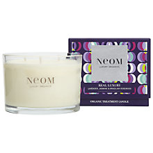 Buy NEOM Real Luxury 3 Wick Candle Online at johnlewis.com