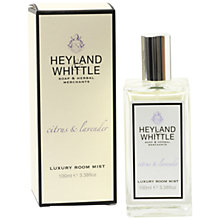 Buy Heyland & Whittle Citrus And Lavender Room Mist Online at johnlewis.com