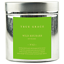 Buy True Grace Candle Tin, Rhubarb Online at johnlewis.com