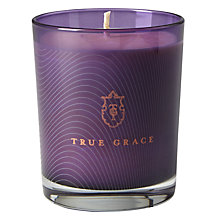 Buy True Grace Curious No 58 Candle, Purple Online at johnlewis.com