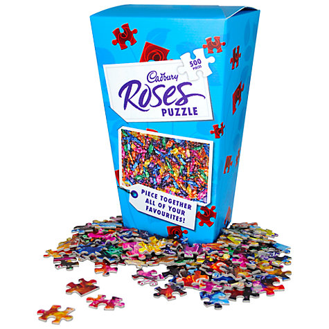 Buy Half Moon Bay Cadbury's Roses 500 Piece Jigsaw Puzzle Online at johnlewis.com