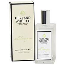 Buy Heyland & Whittle Wild Lemongrass Room Mist Online at johnlewis.com