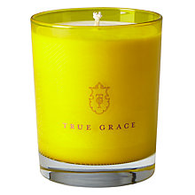 Buy True Grace Curious No 59 Candle, Yellow Online at johnlewis.com