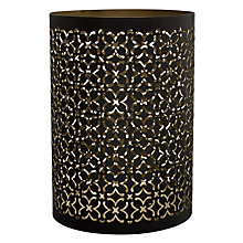Buy John Lewis Cut-out Lantern, Gold Online at johnlewis.com