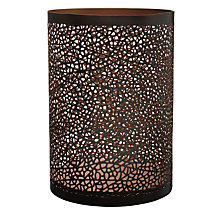 Buy John Lewis Cut-out Lantern, Bronze Online at johnlewis.com