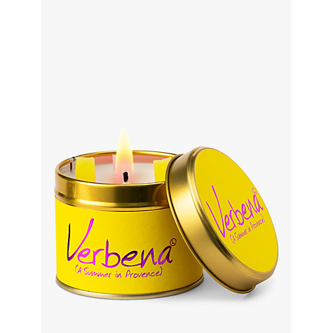 Buy Lily-Flame Verbena Tin Candle Online at johnlewis.com