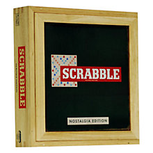 Buy Esdevium Scrabble Nostalgia Board Game Online at johnlewis.com