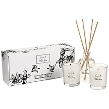 Buy Stoneglow Gift Set, Ginger And White Lily, White Online at johnlewis.com