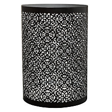 Buy John Lewis Cut-out Lantern, Silver Online at johnlewis.com