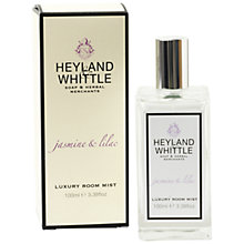 Buy Heyland & Whittle Jasmine And Lilac Room Mist Online at johnlewis.com