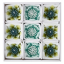 Buy Blooming Bliss Floating Candles, Assorted, Set Of 9 Online at johnlewis.com