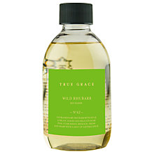 Buy True Grace Wild Rhubarb Diffuser Refill, 250ml Online at johnlewis.com